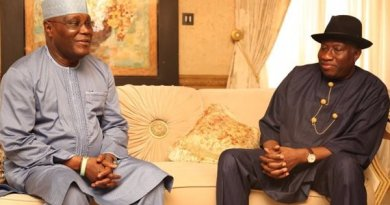 Atiku Abubakar Celebrates Jonathan On His 62nd Birthday
