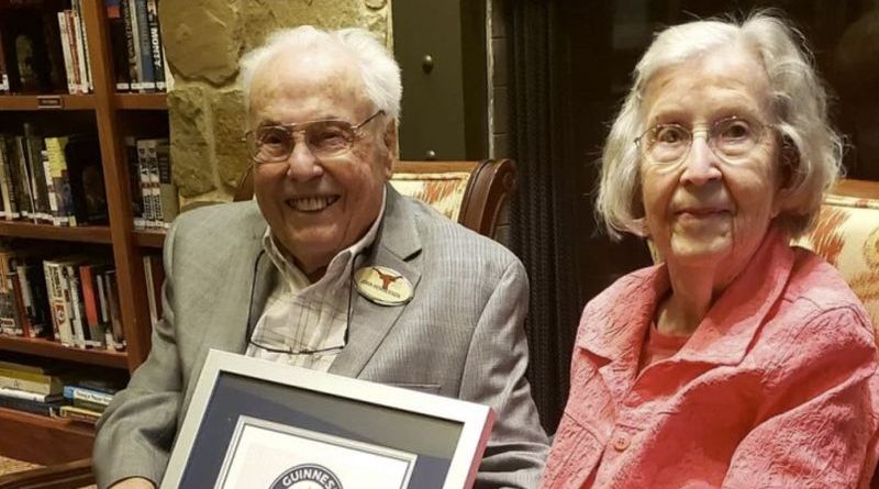 Meet the world's oldest couple