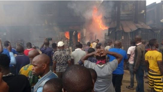 Traders Lose Millions Of Naira In Fresh Fire Outbreak At Lagos Market