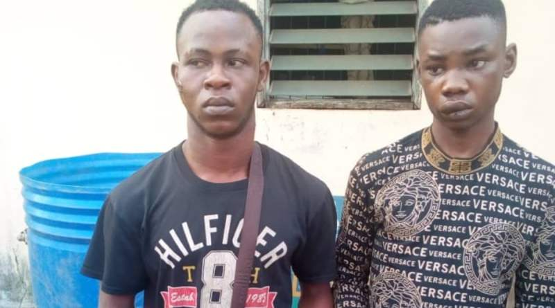 Police arrests 19 year-old for armed robbery, recover arms