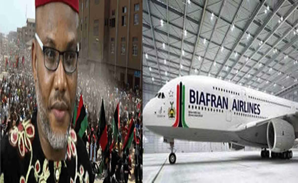Nnmadi Kanu To Commission New Biafra Airline