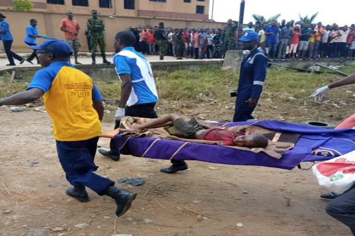 Image result for BREAKING: Two more bodies recovered from Sunday's Explosion in Abule Ado