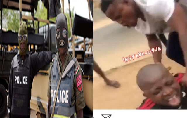 Angry Mob Beat Up SACS Officers For Crushing A boy's leg