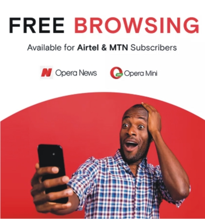 Opera Mini Flashes Free 50 MB