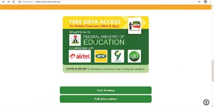 FG Gives Students Free Data To Access E-Learning