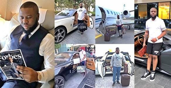 Hushpuppi Turns To Born Again Christian, Sings Praises To God In Dubia Prison (Video)