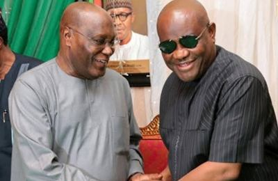 Nigerians Drag Gov Wike on Twitter Over Rude Reply to Atiku's Comment on PDP (Photos)