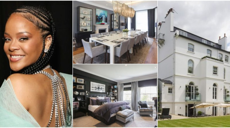 Rihanna set to promote her 8-bed room London mansion for N14.6bn