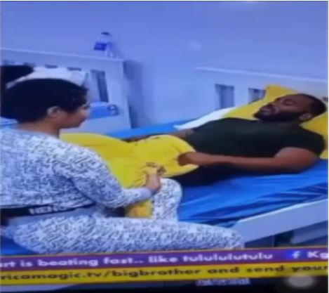 Drama As Kiddwaya Gets Angry With Nengi, Tells Ozo To Tell Her To Avoid Him (Video)