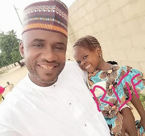 Heartbreaking!! Gallant Leader Of The Civilian Joint Task Force In Borno State, Muazu Alhaji Misiya Loses Young Daughter
