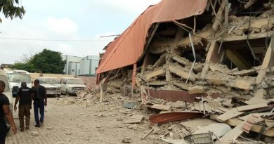 A school building collapsed