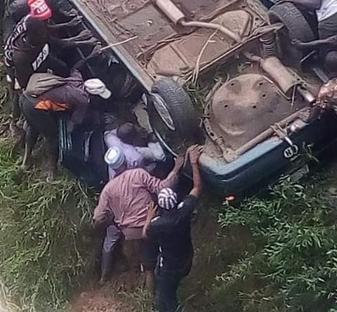 Oh No! Two ATBU Final Year Students And A Prospective NYSC Member Die In Auto Crash (Photos)