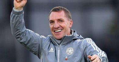Brendan Rodgers sends a message to Manchester City ahead of the game