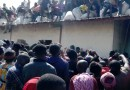 Commotion As Residents Break Into Warehouse In Plateau State, Loot COVID-19 Palliatives (Photos)
