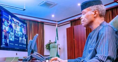 Osinbajo Presides Over NEC Meeting