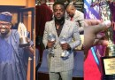 Filmmaker, Kunle Afolayan shows off his collection of prestigious awards