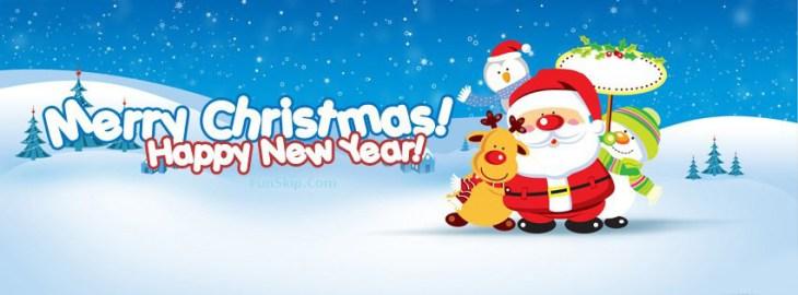 merry christmas fb cover