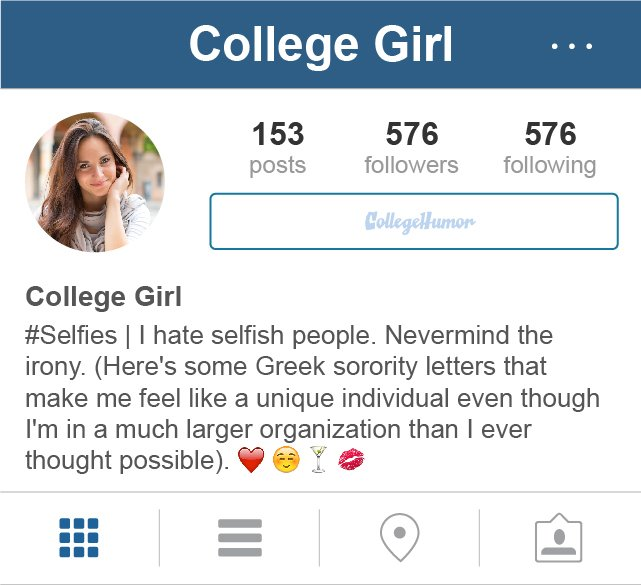 insta bio for girls