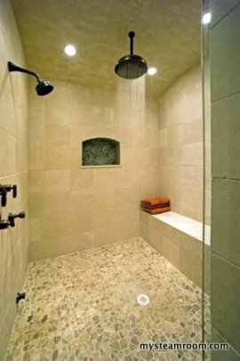 Tile Bathroom Shower  Steam Shower Reviews Designs