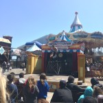 Circus acts on the pier!