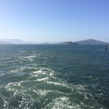 Taking the ferry back to Oakland