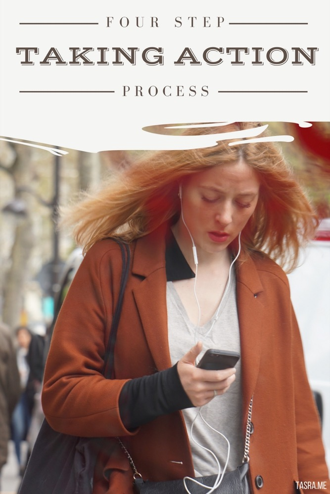 Parisian woman on cell phone