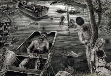 Scaphism – The most horrible method of torture and execution in history 10