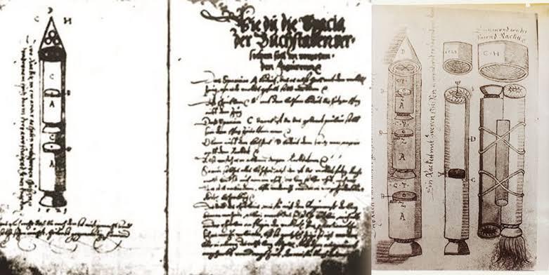 Το χειρόγραφο του Sibiu: Ένα βιβλίο του 16ου αιώνα περιέγραψε με ακρίβεια τους πυραύλους πολλαπλών σταδίων 3