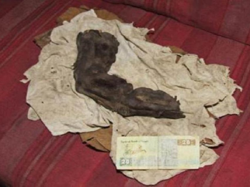 O 'dedo gigante' mumificado do Egito: os gigantes realmente vagaram na Terra? 7