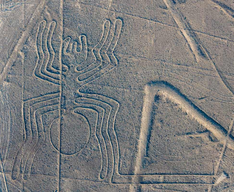 Nazca Lines, Nazca Desert in Southern Peru