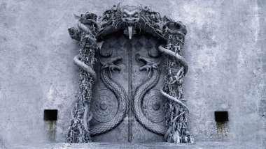 Hình đại diện cho cánh cửa đã được niêm phong của Vault B.