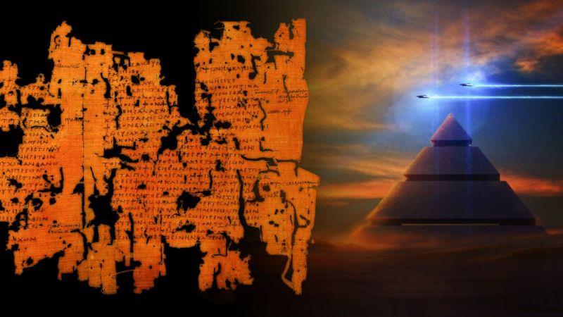 Papyrus Tulli: Người Ai Cập cổ đại đã gặp một UFO khổng lồ?