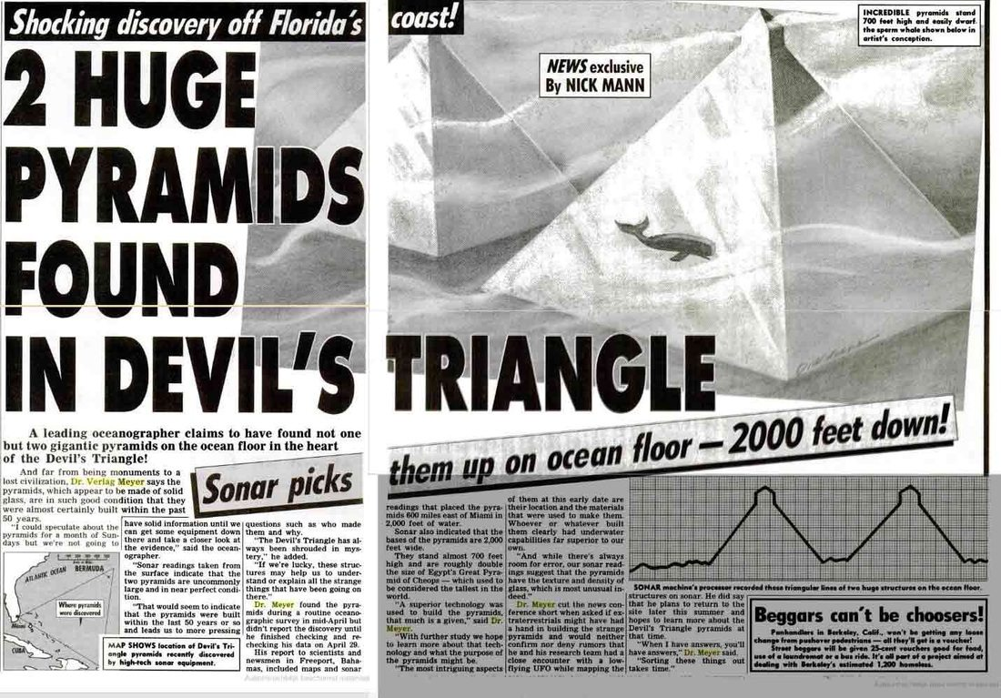 Newly discovered pyramids and advanced technology hidden in the Bermuda Triangle 7