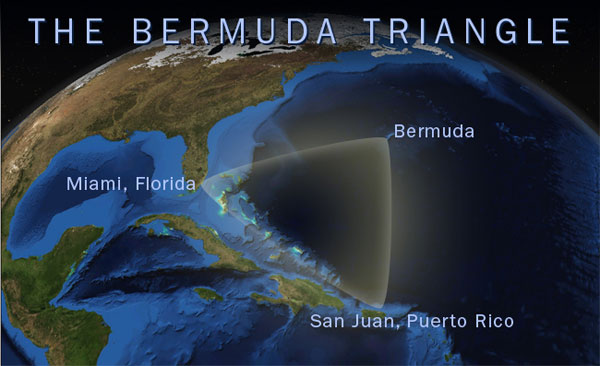 Newly discovered pyramids and advanced technology hidden in the Bermuda Triangle 6