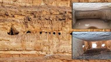 Μυστηριώδεις θάλαμοι που δημιουργήθηκαν στο βράχο βρέθηκαν σε ένα βράχο στην Άβυδο της Αιγύπτου 7