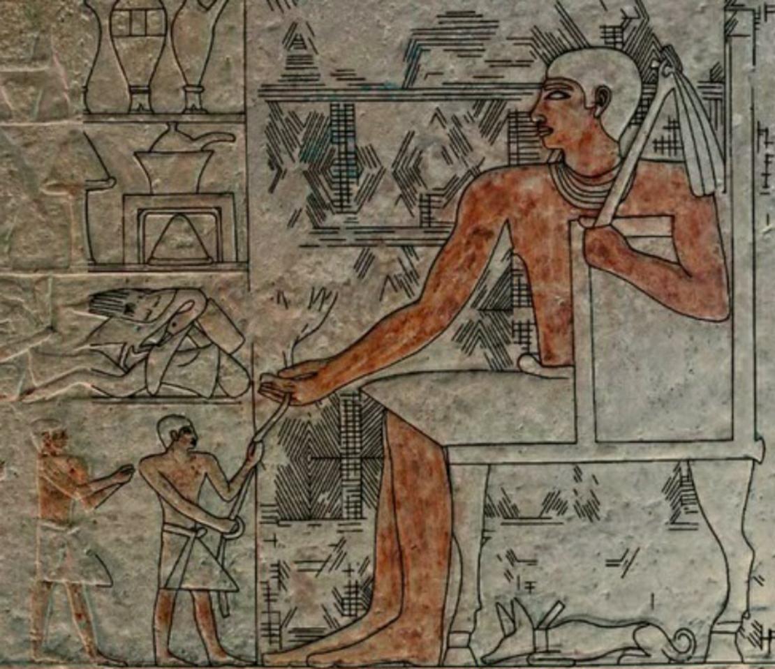 Reis gigantes do antigo Egito?