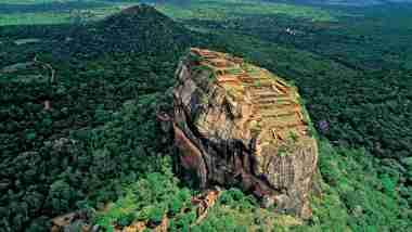 Sigiriya, Lion Rock: Nơi theo truyền thuyết được xây dựng bởi các vị thần 8