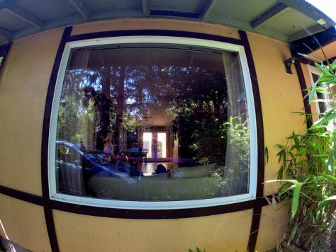 Living Room Go Pro Fish Eye