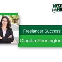 Freelancer Success Stories - Claudia Pennington