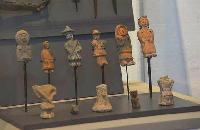 Figurillas encontradas.