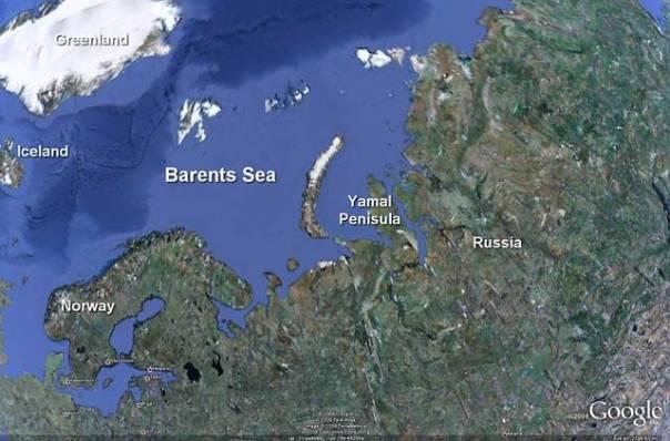 El mar de Barents es un sector del océano Ártico, situado en el norte de Noruega y de Rusia. Lleva el nombre del navegante holandés Willem Barents.