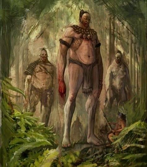 «Era una raza valiente, altiva y guerrera, para la cual los hombres blancos de hoy en día serían solo pigmeos».