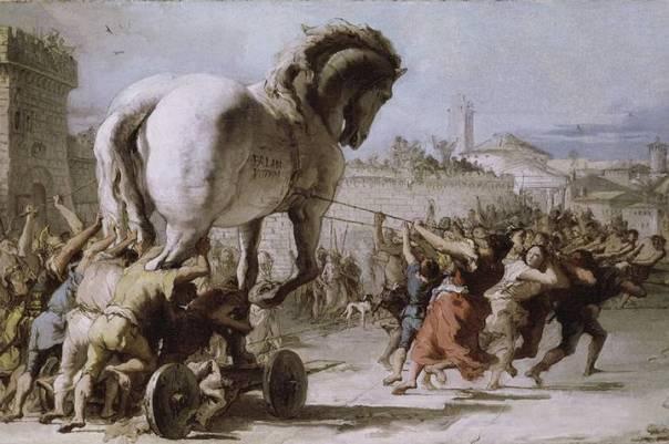 Posiblemente el caballo más famoso del mundo.