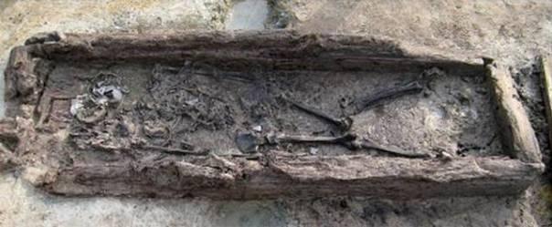 El 'mokgwakmyo' donde fue encontrado el esqueleto de la mujer con el cráneo alargado.