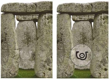 Piedra 52 con el símbolo del «Ojo».