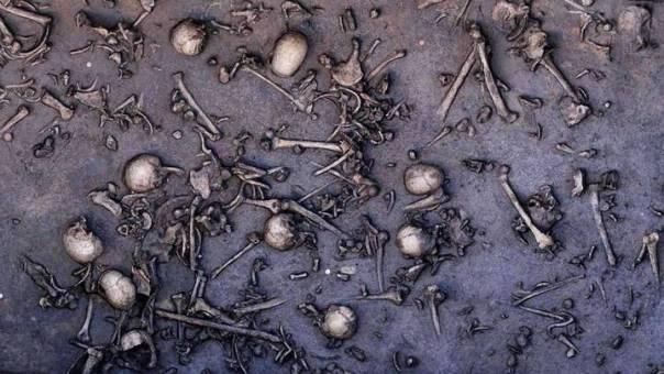 Restos de hombres adultos que murieron en una brutal batalla sucedida en Oxfordshire, Inglaterra, en el año 3570 a.C.
