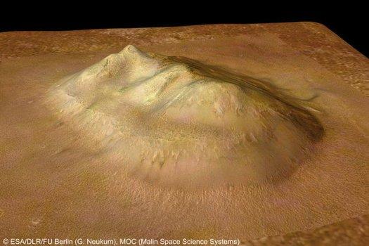 En el año 2006, la sonda Mars Express de la Agencia Espacial Europea obtuvo excelentes imágenes de la «Cara» de Marte (resolución de 13,7 metros por píxel).