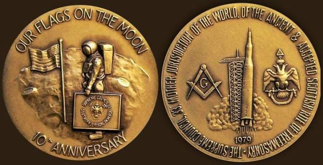 Masonic connections NASA