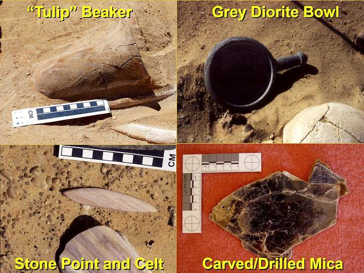 civilization prior to Pharaonic Egypt objects found in caves