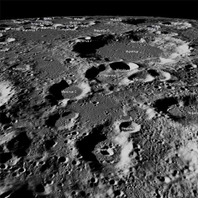 NASA Moon Images Vikram Lander